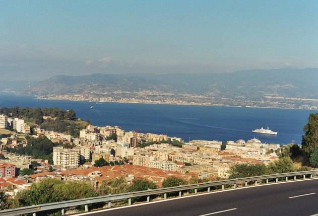 Traversata Messina Villa San Giovanni Durata