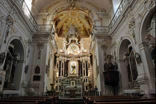 Chiesa e convento del carmine for Interno a un convento
